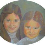 Portraits d'enfants en peinture